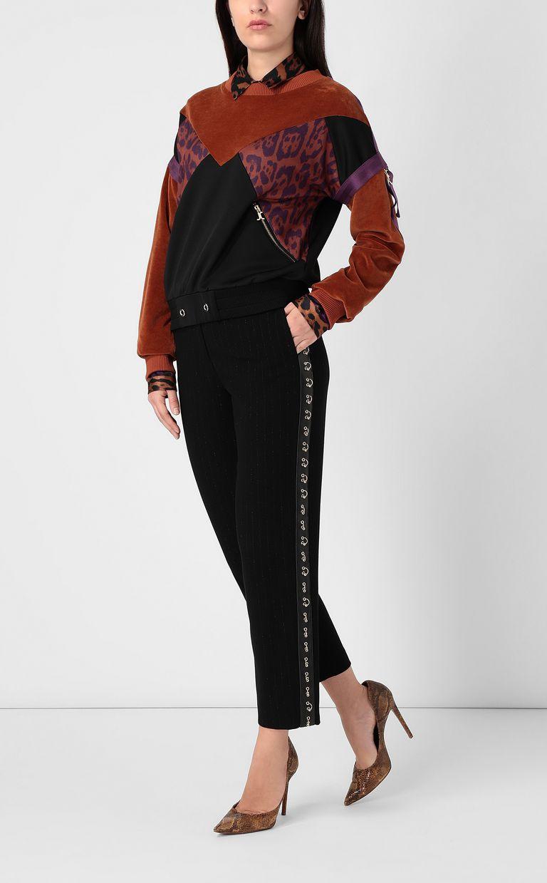 JUST CAVALLI Leopard-spot sweatshirt Sweatshirt Woman d