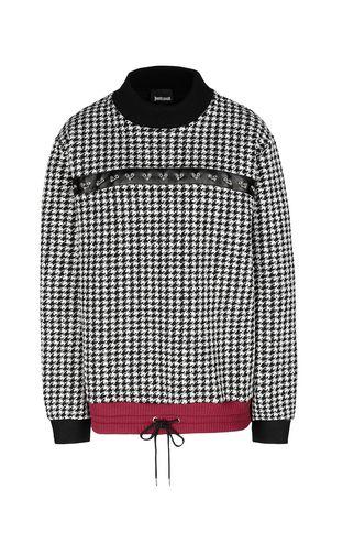 JUST CAVALLI Sweatshirt Woman Leopard-spot sweatshirt f