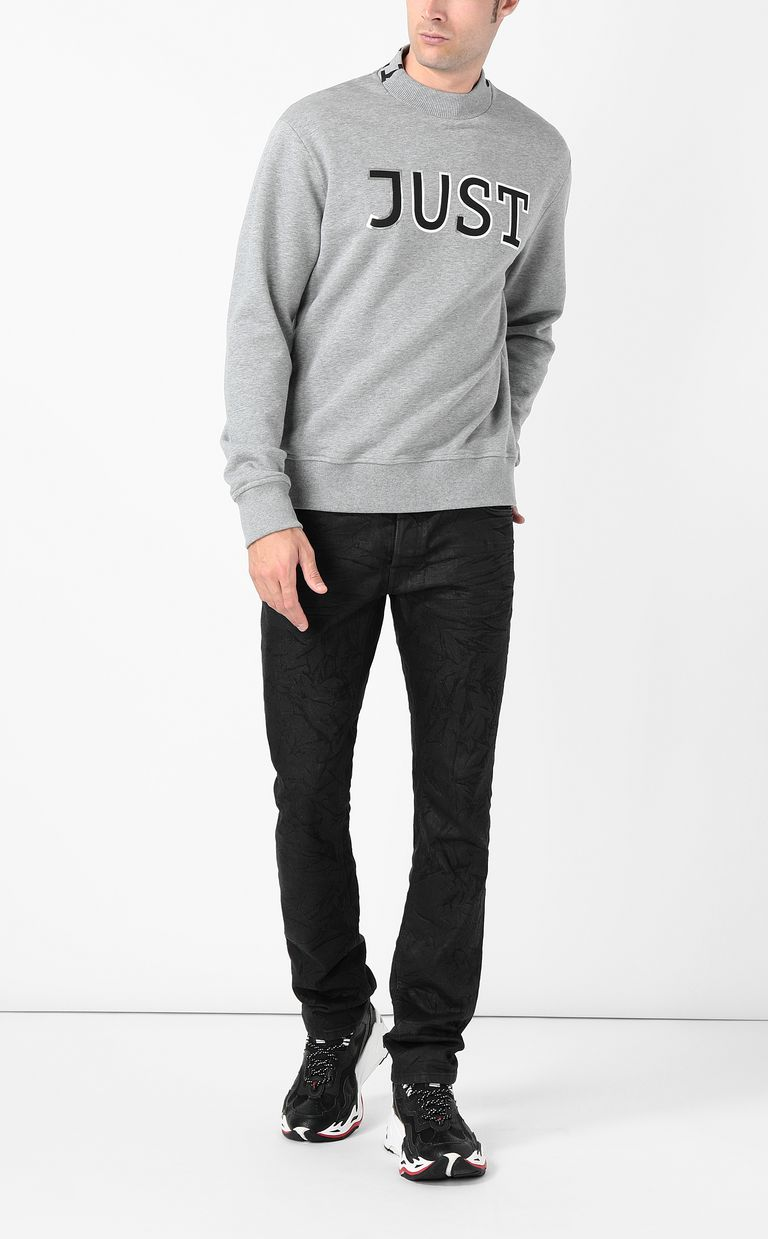 JUST CAVALLI Sweatshirt with Just logo Sweatshirt Man d