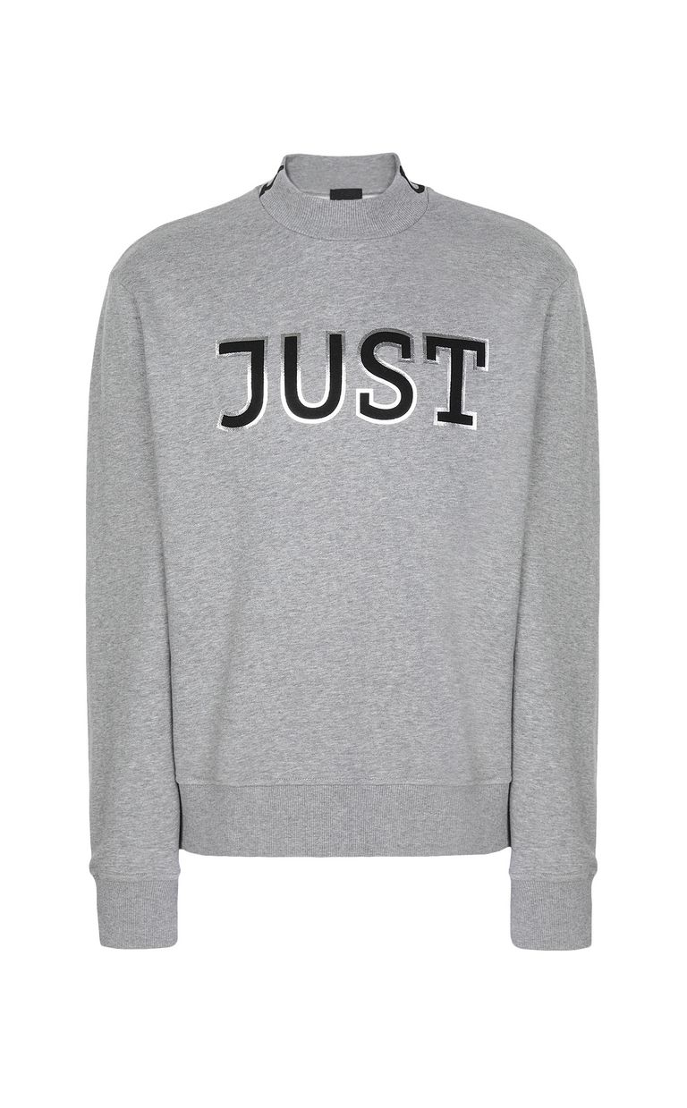JUST CAVALLI Sweatshirt with Just logo Sweatshirt Man f