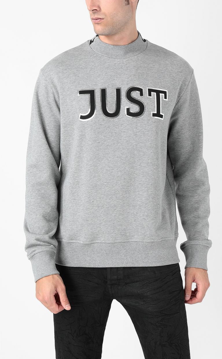 JUST CAVALLI Sweatshirt with Just logo Sweatshirt Man r