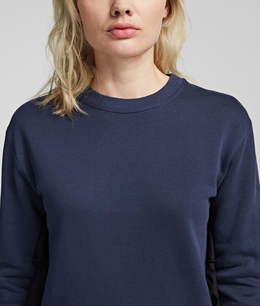 KARL LAGERFELD Fabric Mix Sweatshirt Sweatshirt Woman d