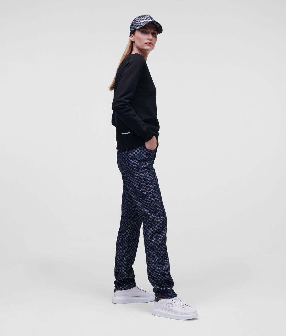 KARL LAGERFELD Sudadera strass K/Ikonik Sweatshirt Woman d