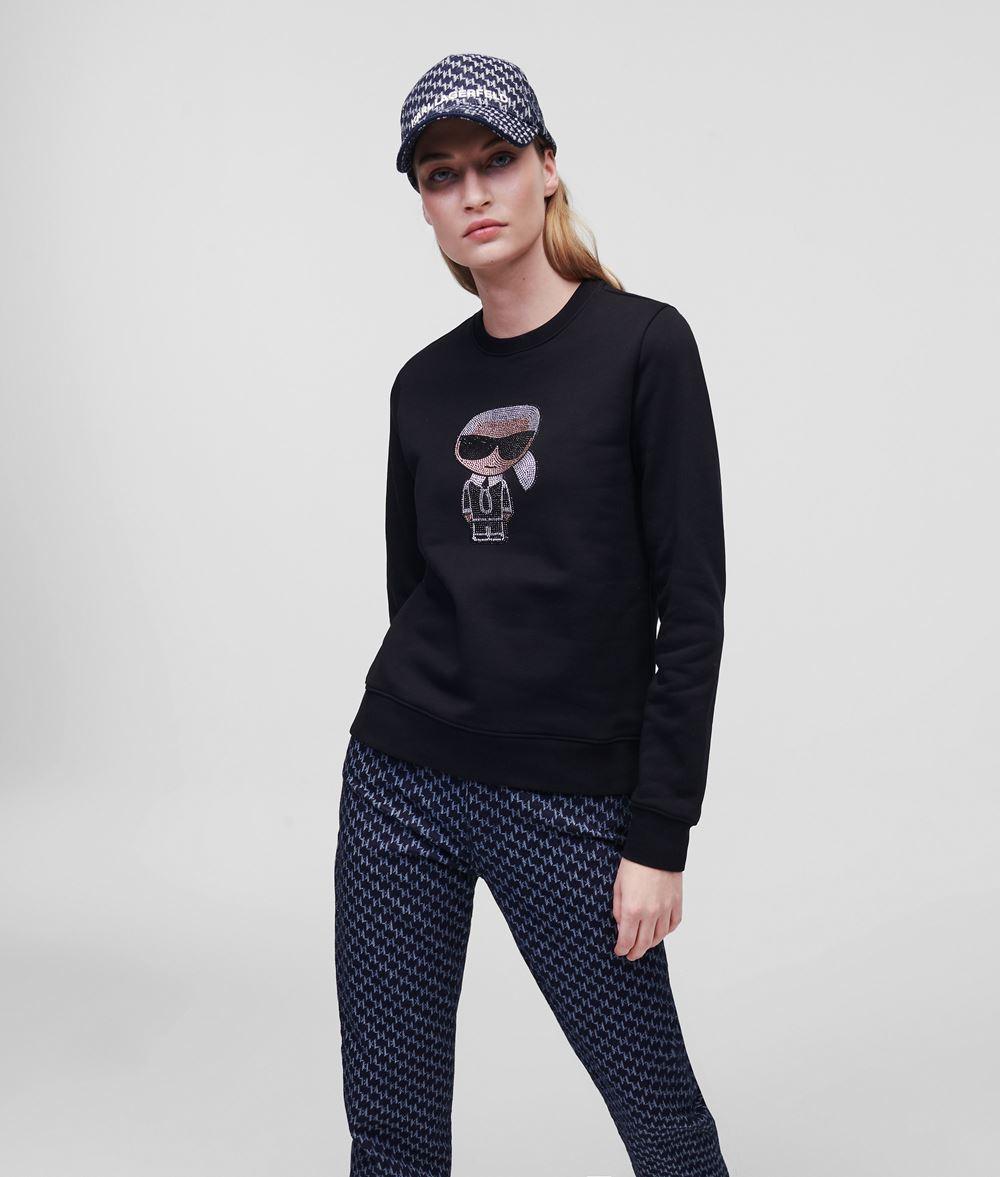 KARL LAGERFELD Sudadera strass K/Ikonik Sweatshirt Woman f