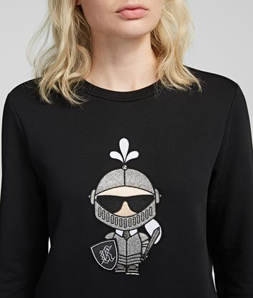 KARL LAGERFELD KARL'S TREASURE KNIGHT SWEATSHIRT