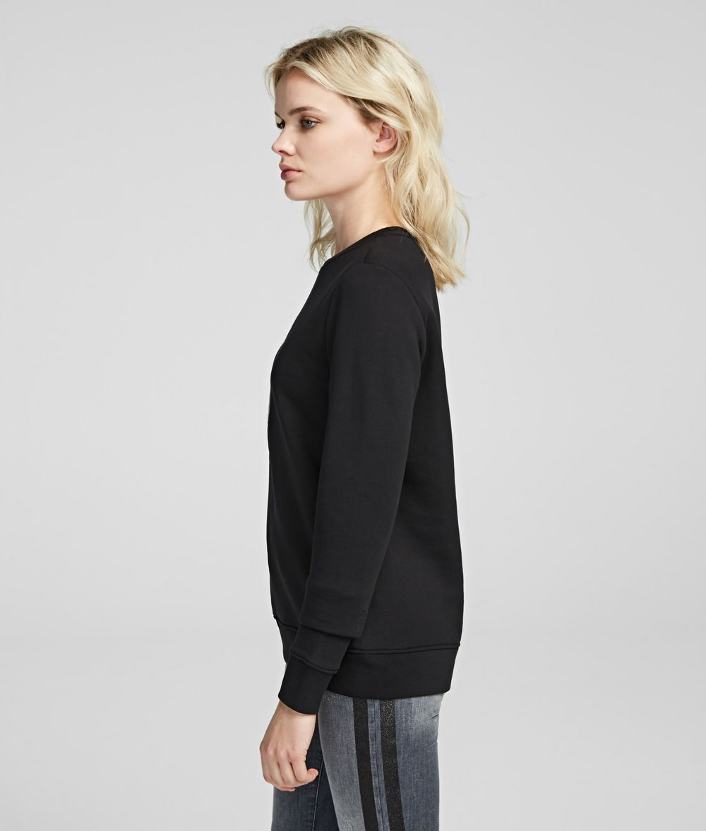 KARL LAGERFELD Karl's Treasure Knight Sweatshirt Sweatshirt Woman d