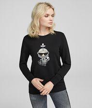 KARL LAGERFELD Karl's Treasure Knight Sweatshirt 9_f