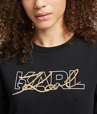 KARL LAGERFELD Double Logo Sweatshirt 9_f