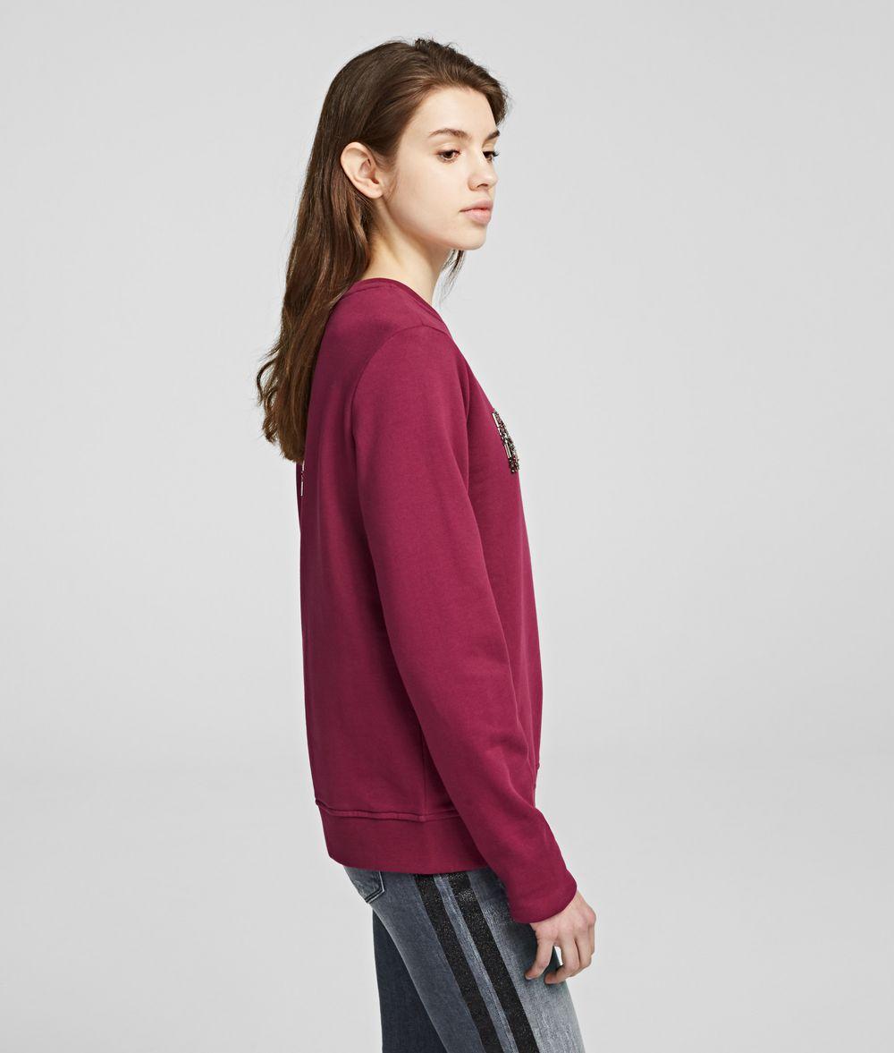 KARL LAGERFELD Karl Oui Sweatshirt Sweatshirt Woman d