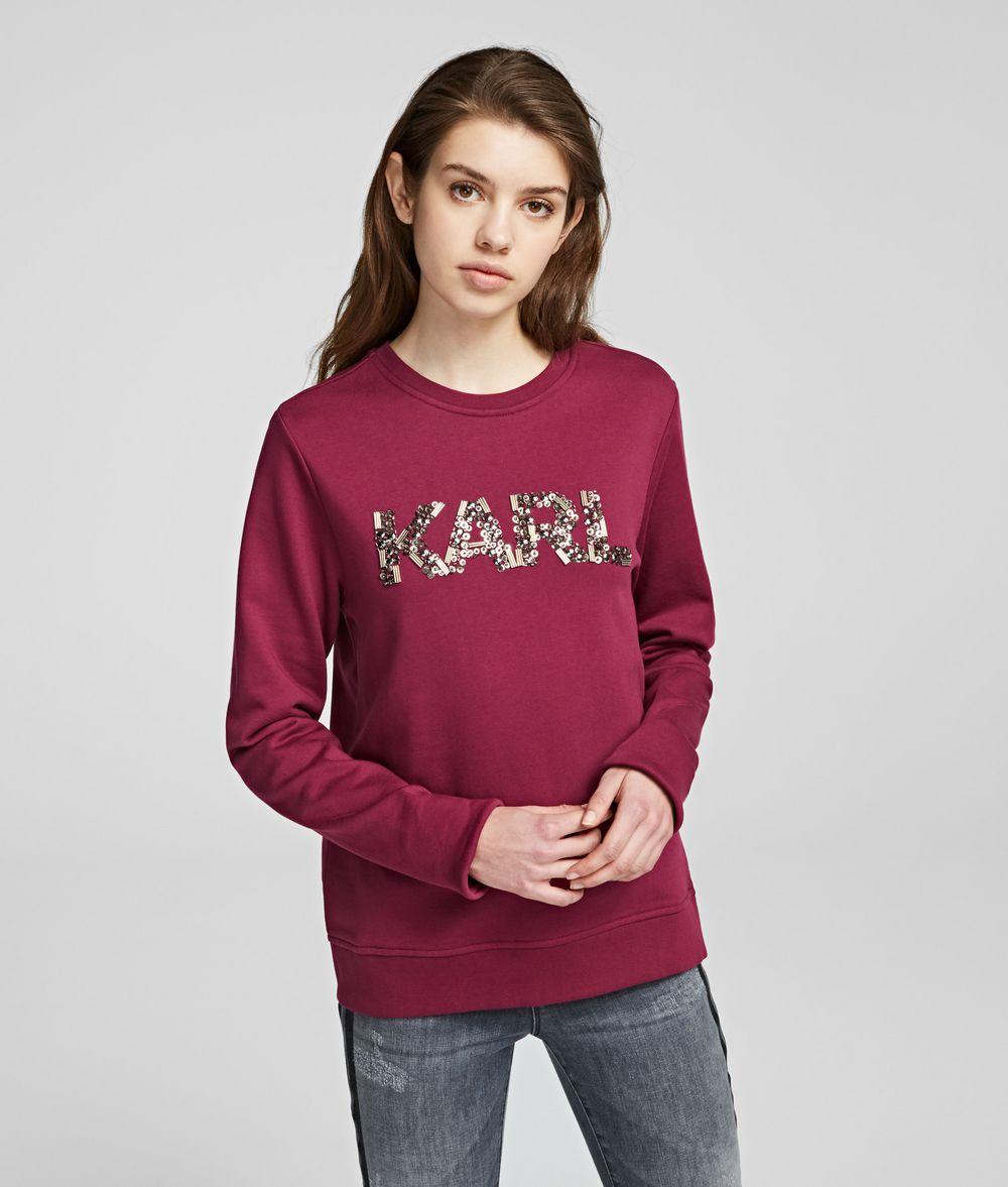 KARL LAGERFELD Karl Oui Sweatshirt Sweatshirt Woman f