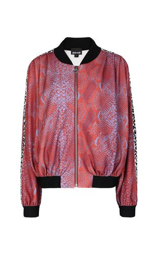 "JUST CAVALLI Sweatshirt Woman Sweatshirt with ""Astrology"" print f"
