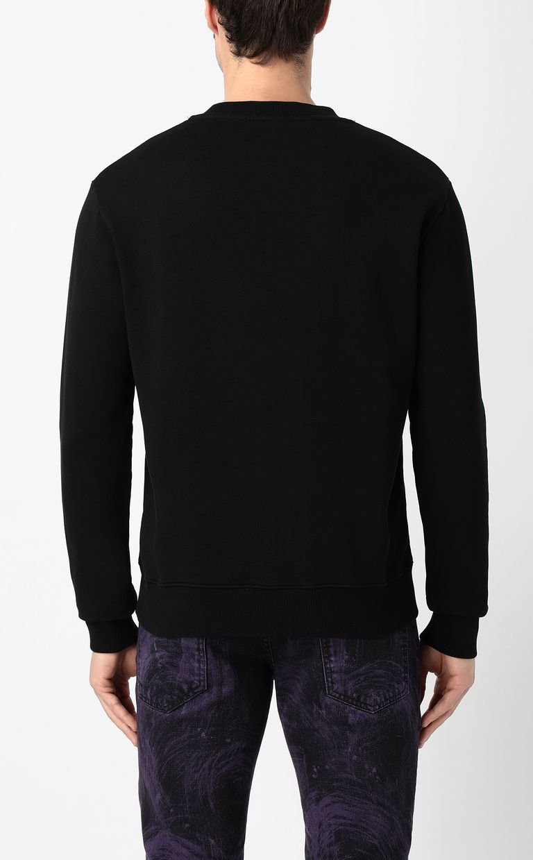 JUST CAVALLI Skull sweatshirt Sweatshirt Man a