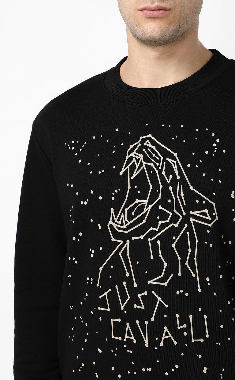 JUST CAVALLI Astral tiger sweatshirt Sweatshirt Man e