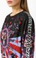 "JUST CAVALLI Sweatshirt with ""Astrology"" print Sweatshirt Woman e"