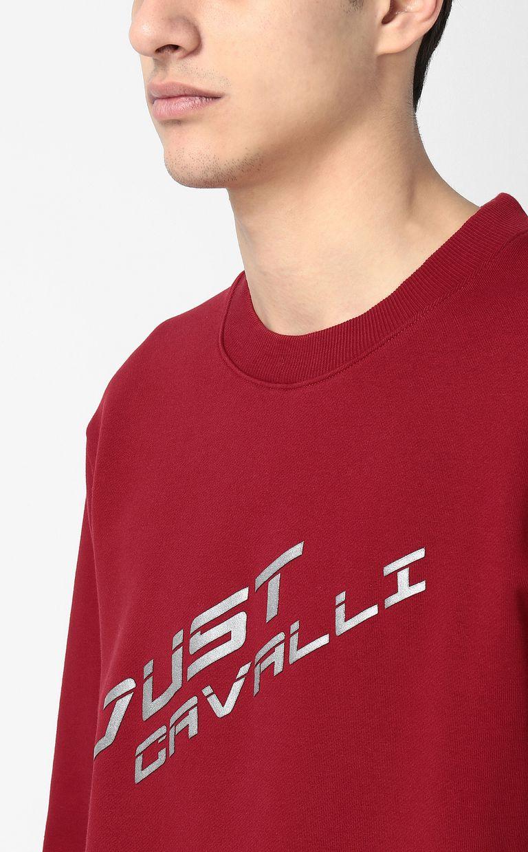 JUST CAVALLI Sweatshirt with logo Sweatshirt Man e