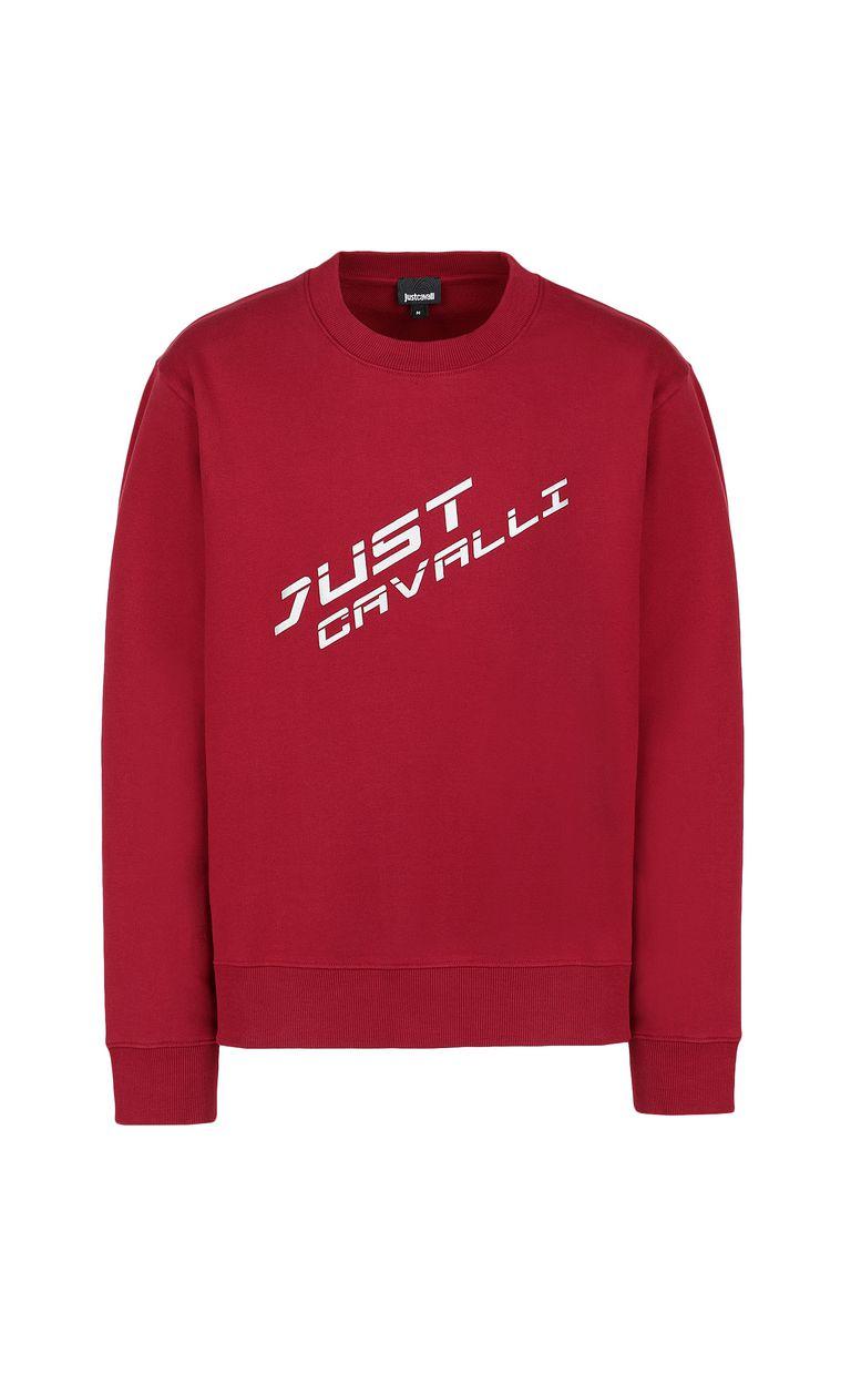 JUST CAVALLI Sweatshirt with logo Sweatshirt Man f