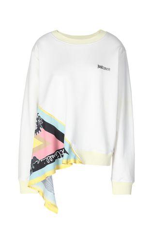 JUST CAVALLI Sweatshirt Woman Sweatshirt with tiger print f
