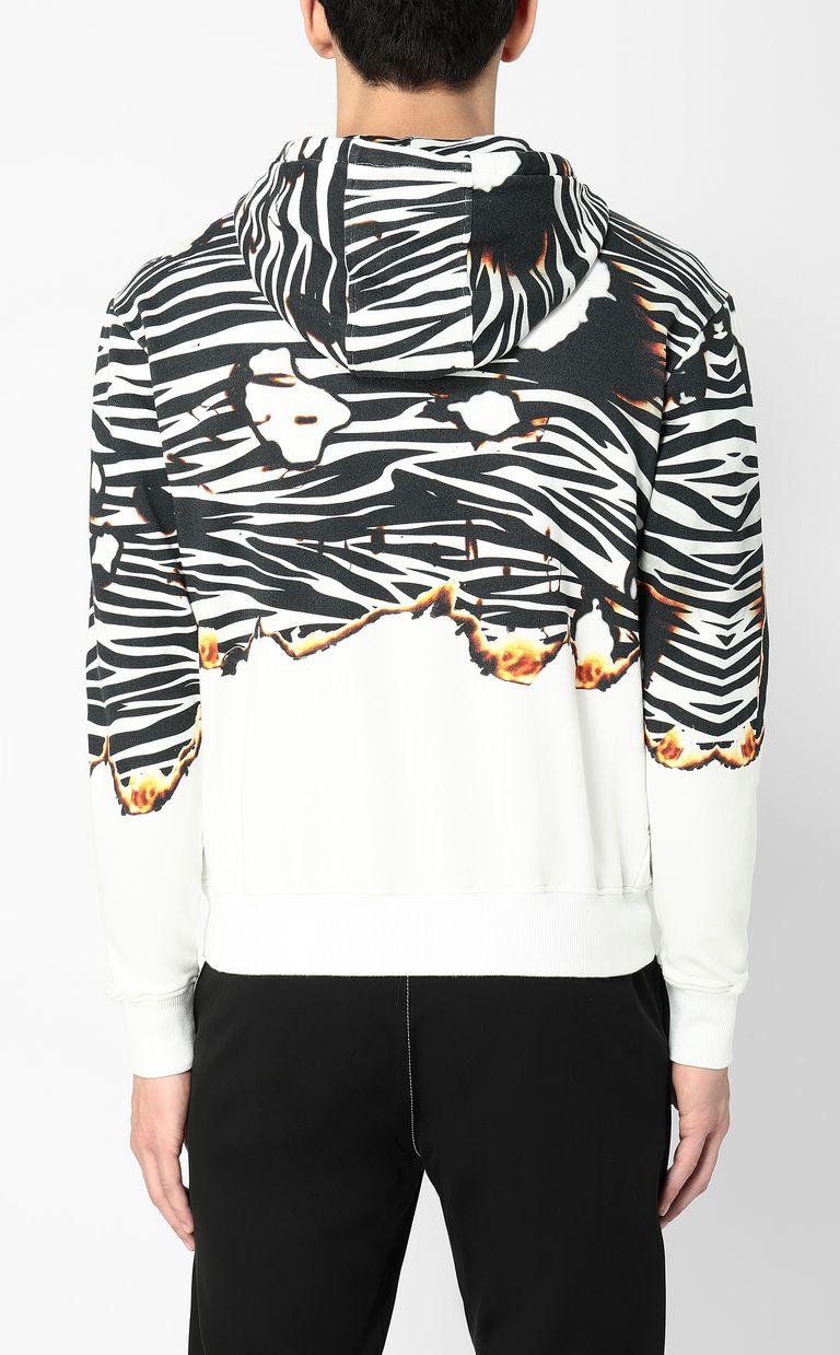 "JUST CAVALLI ""Burning Zebra""-print sweatshirt Sweatshirt Man a"