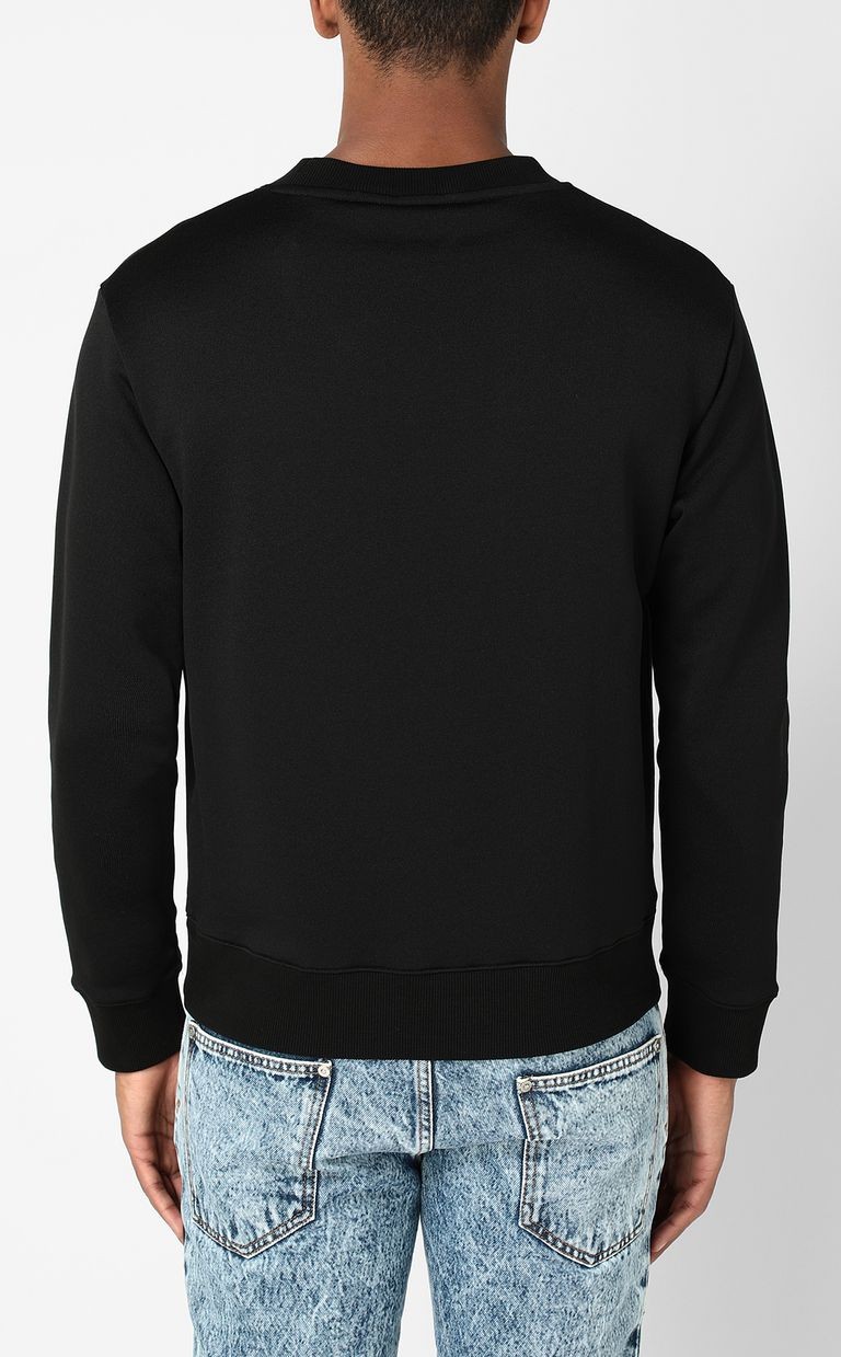 JUST CAVALLI Sweatshirt with Globo Snake print Sweatshirt Man a