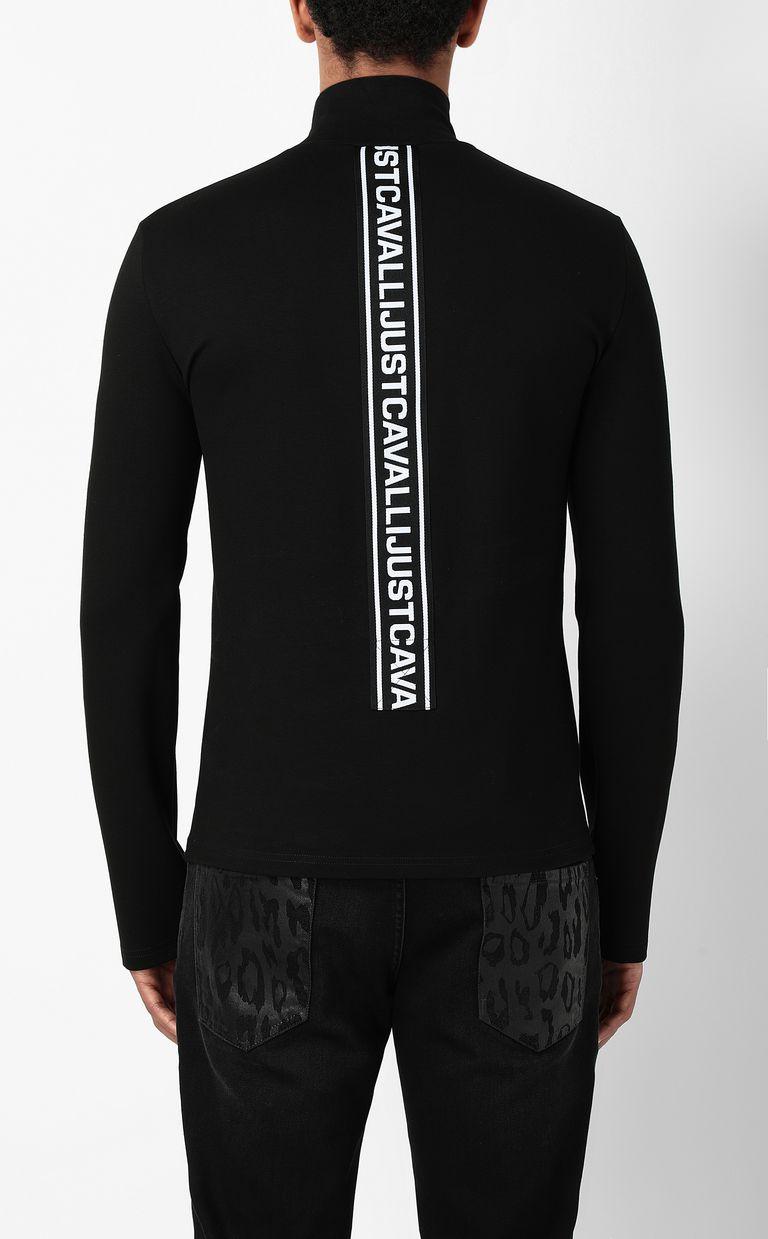 JUST CAVALLI Long-sleeve t-shirt with logo Sweatshirt Man a