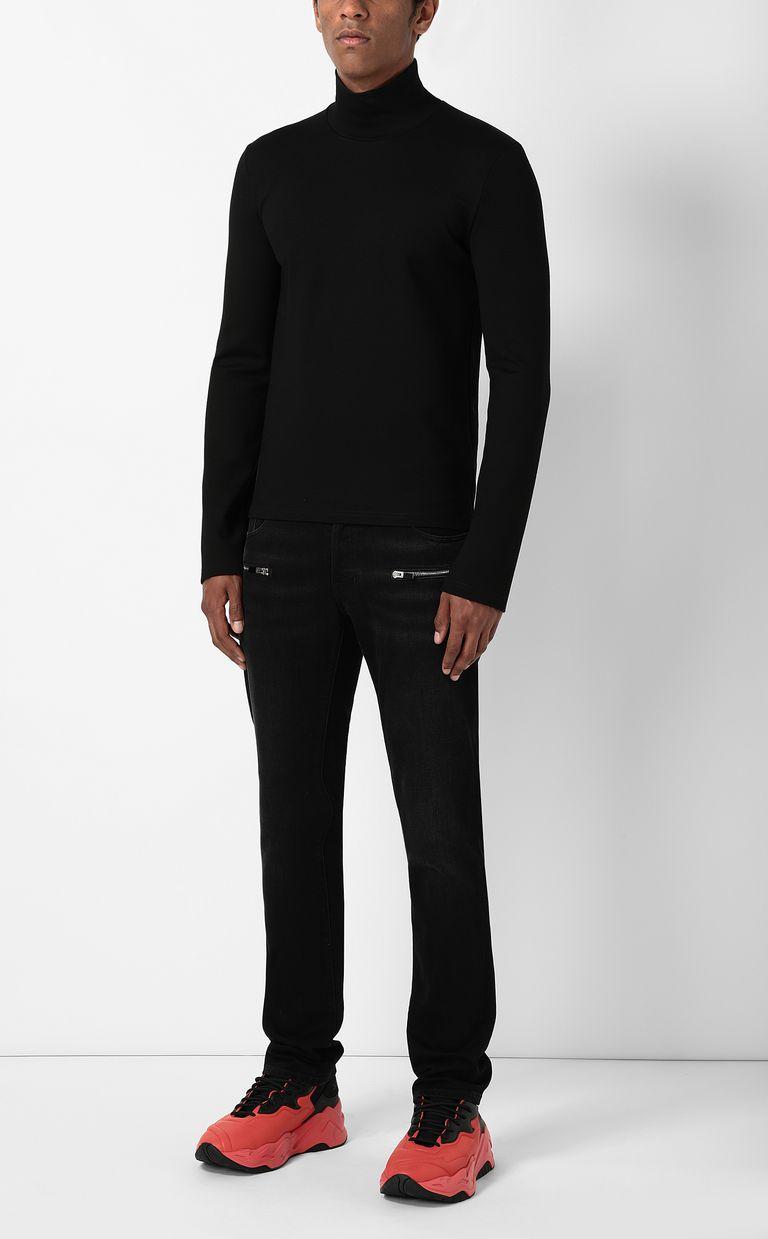 JUST CAVALLI Long-sleeve t-shirt with logo Sweatshirt Man d
