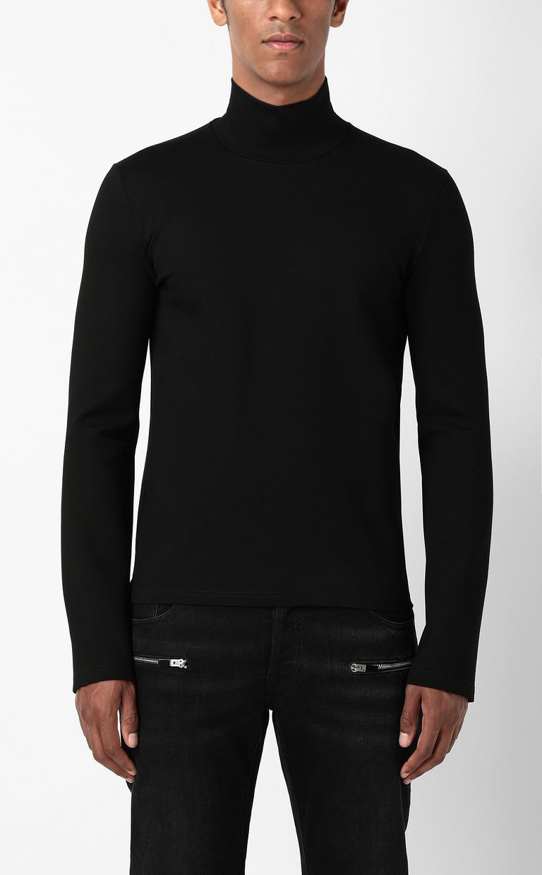 JUST CAVALLI Long-sleeve t-shirt with logo Sweatshirt Man r