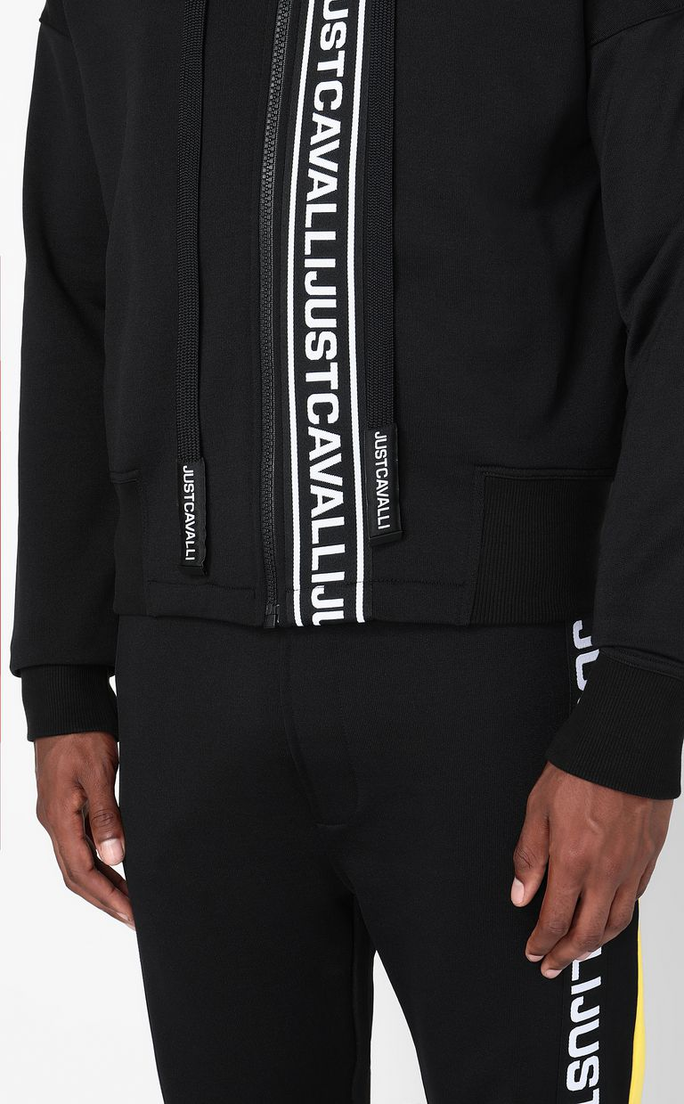 JUST CAVALLI Sweatshirt with logo print Sweatshirt Man e