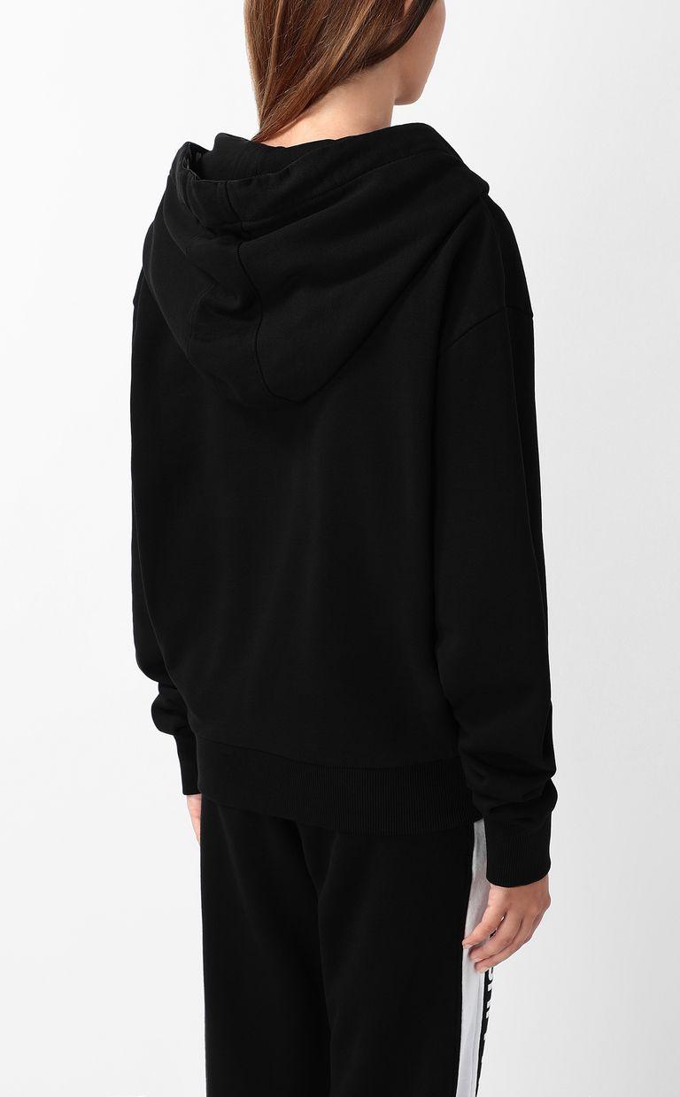 JUST CAVALLI Sweatshirt with logo tape Sweatshirt Woman a