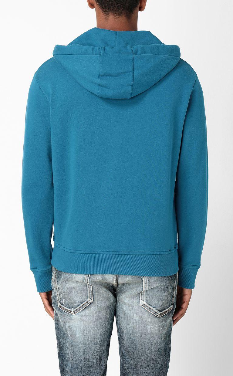 JUST CAVALLI Sweatshirt with Flower-Skull print Sweatshirt Man a