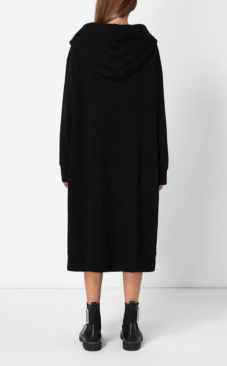 JUST CAVALLI Large sweatshirt with embroidery Sweatshirt Woman a