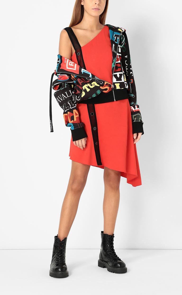 JUST CAVALLI Zip-front sweatshirt Sweatshirt Woman d