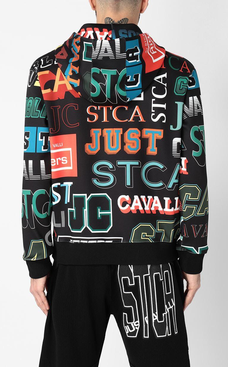 JUST CAVALLI Hooded sweatshirt Sweatshirt Man a