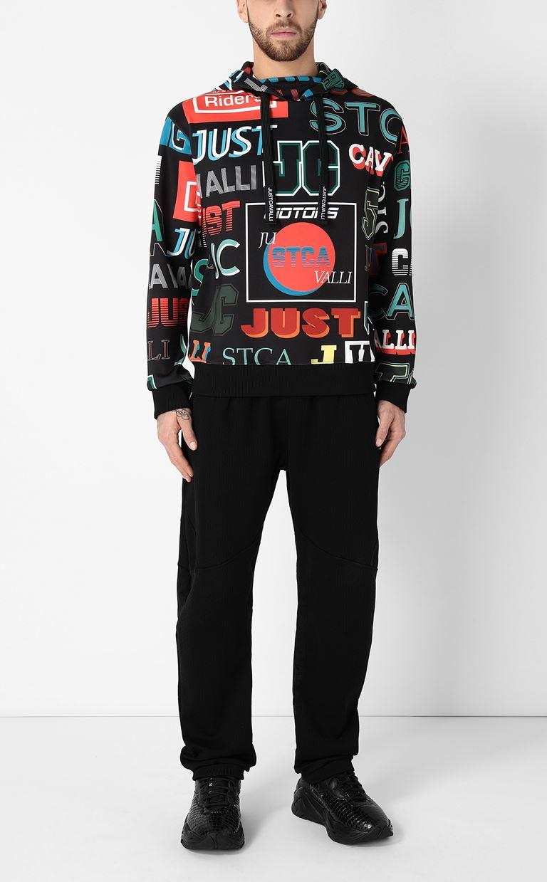 JUST CAVALLI Hooded sweatshirt Sweatshirt Man d