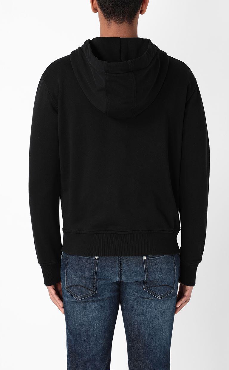 JUST CAVALLI Sweatshirt with tiger-stripe print Sweatshirt Man e
