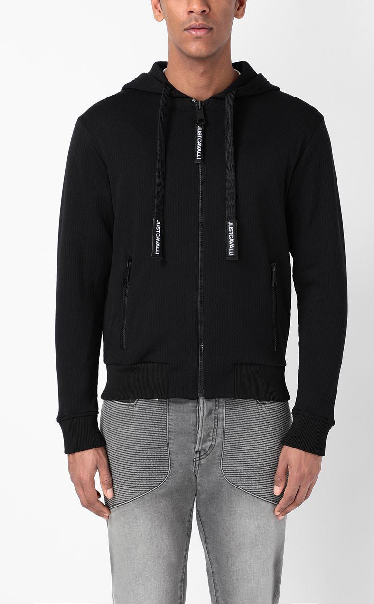 JUST CAVALLI Sweatshirt with logo print Sweatshirt Man r