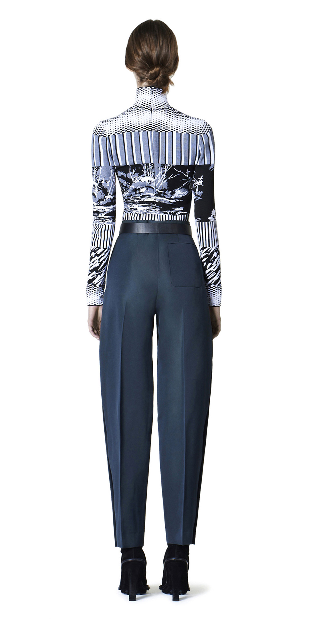 BALENCIAGA Trousers D Balenciaga Officer Pants i