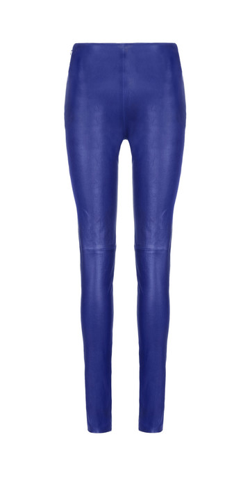 Balenciaga Slim Stretch Leather Trousers