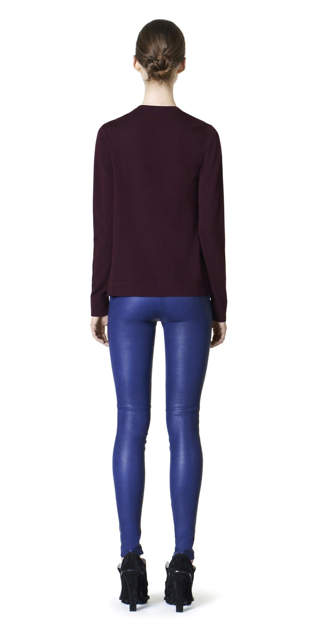 BALENCIAGA Trousers D Balenciaga Slim Stretch Leather Trousers i