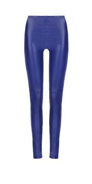 BALENCIAGA Hose D Balenciaga Stretch-Lederhose Slim Fit e