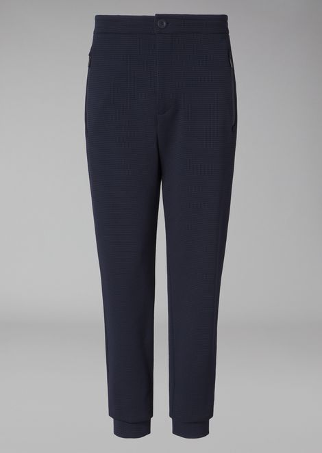 CLASSIC WOVEN JOGGING TROUSERS
