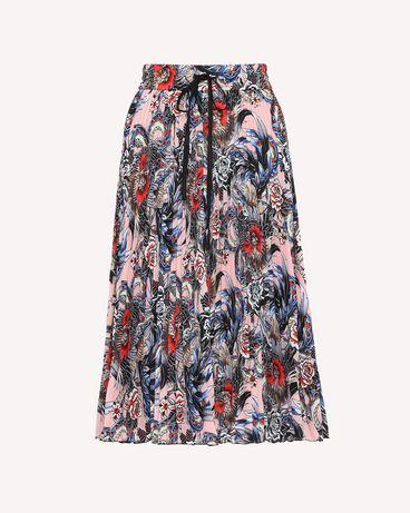 REDValentino RR0RAB25EIX GS7 Midi Skirt Woman a