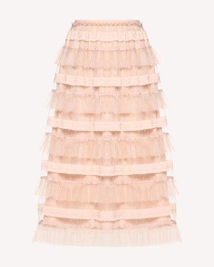 REDValentino Midi Skirt Woman RR0RA00DARM 377 a