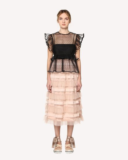 REDValentino Midi Skirt Woman RR0RA00DARM 377 f