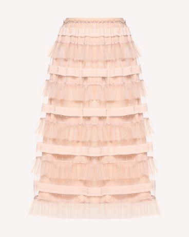 REDValentino RR0RA00DARM 377 Midi Skirt Woman a