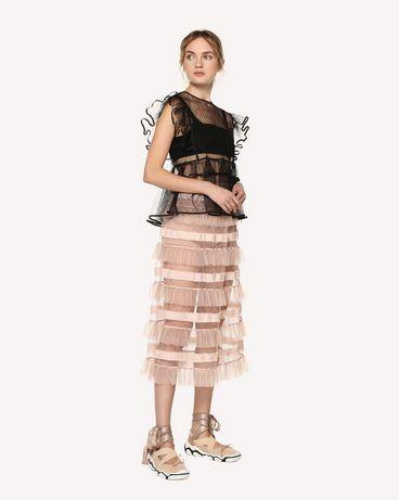 REDValentino RR0RA00DARM 377 Midi Skirt Woman d