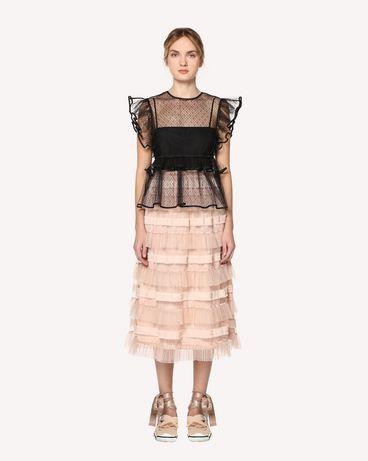 REDValentino RR0RA00DARM 377 Midi Skirt Woman f