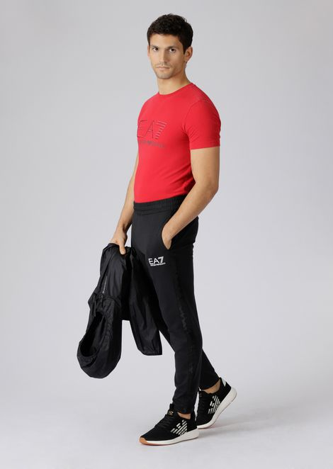 Pure cotton Train Logo jogging trousers