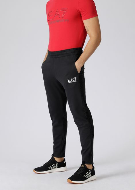 Pantaloni joggers in puro cotone Train Logo