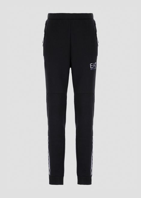 Natural Ventus7 cotton and polyester jogging trousers