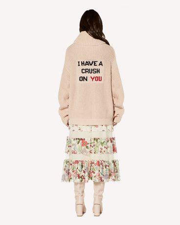 REDValentino SR3RAC104AP 031 Midi skirt Woman r